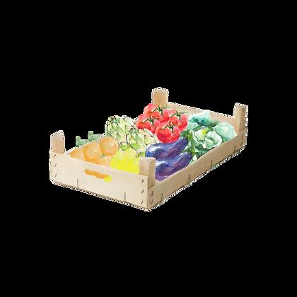 Panier de fruits et légumes - Produits Locaux et/ou BIO