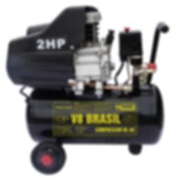 Compressor de Ar V8 25 litros