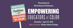 """""""Engaging Students of Color Through Art and Popular Culture"""" Rhode Island Empowering Educators of Color Conference"""
