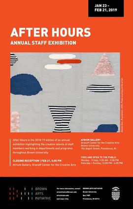 Brown University Granoff Center for the Creative Arts Annual Staff Exhibition