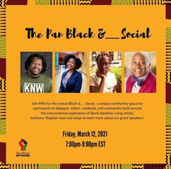 The Pan Black & _____ Social