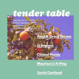 Tender Table