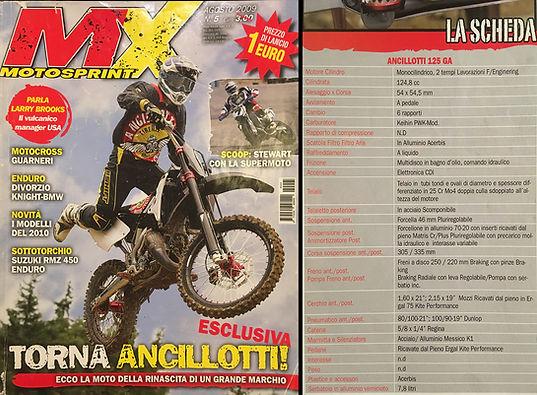 copertina di MX Motosprint numero 5 dell