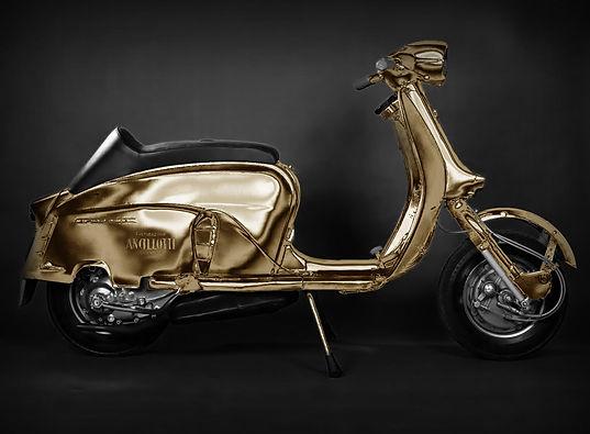 Moto Lambretta Ancillotti Gold