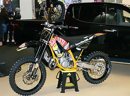 Moto G.A. Cross Ancillotti da competizio