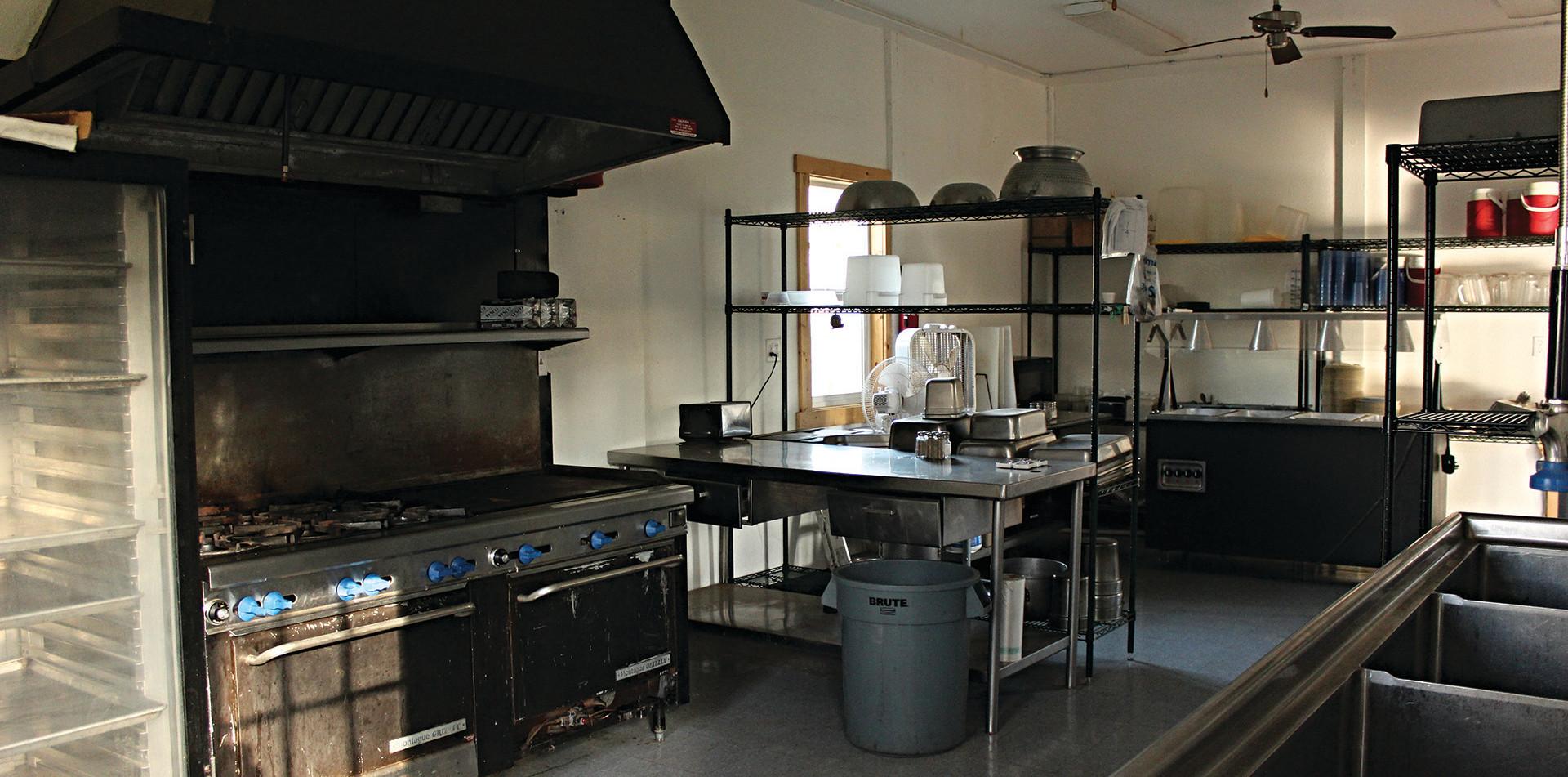 The Pavilion Kitchen