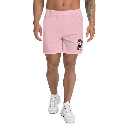 Men's Athletic Long Shorts Pink