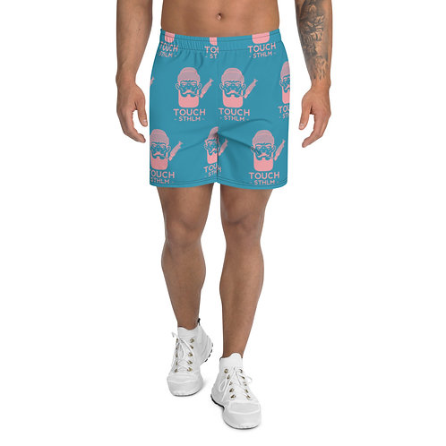Men's Athletic Long Shorts - Pattern