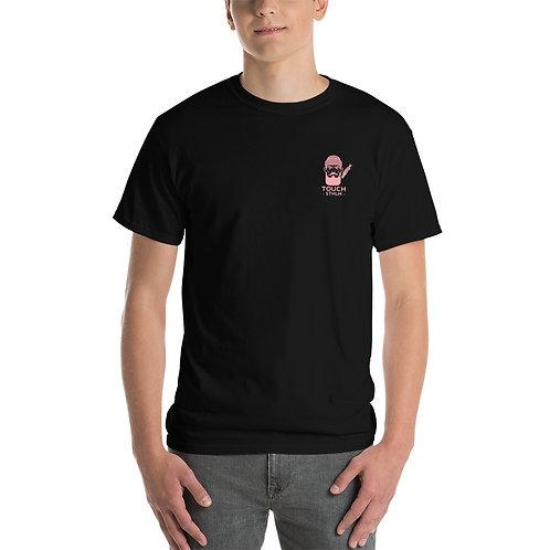 T-Shirt - Pink Logo front & back