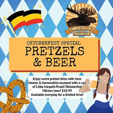Beige Soft Brown Gold Green Oktoberfest Beerfest Beer Festival Happy Hour Instagram Post.j