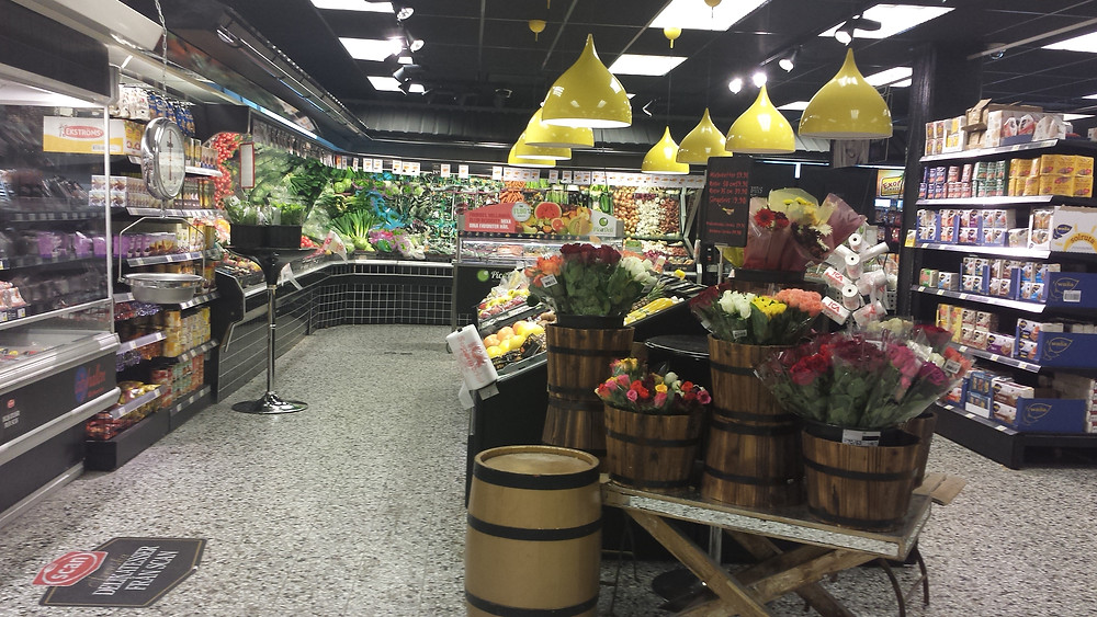 Swedish grocery stores are so cute!