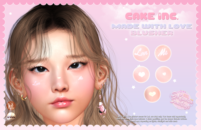 Cake Inc. - Made With Love Blusher