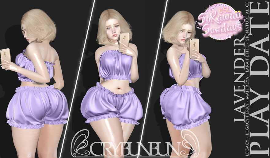 CryBunBun - Play Date Outfit
