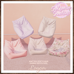 Lagom - Kawaii knitted softchairs sticke
