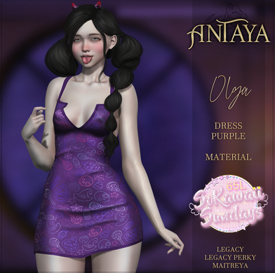 Antaya - Olga Dress Purple