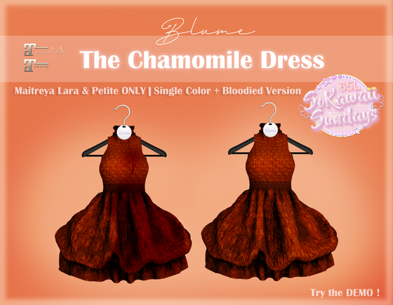 Blume - The Chamomile Dress