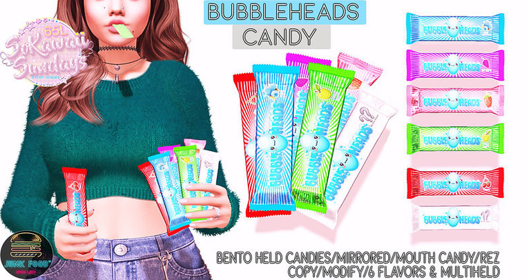 Junk Food - Bubbleheads Candy