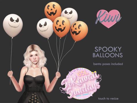 Kiwi - Spooky Balloons