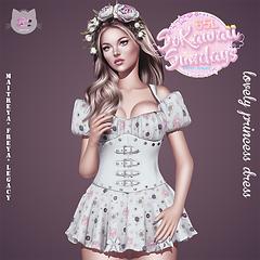 lovely princess dress poster kawaii sund