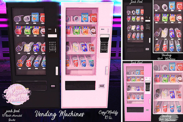 Junk Good - Vending Machines