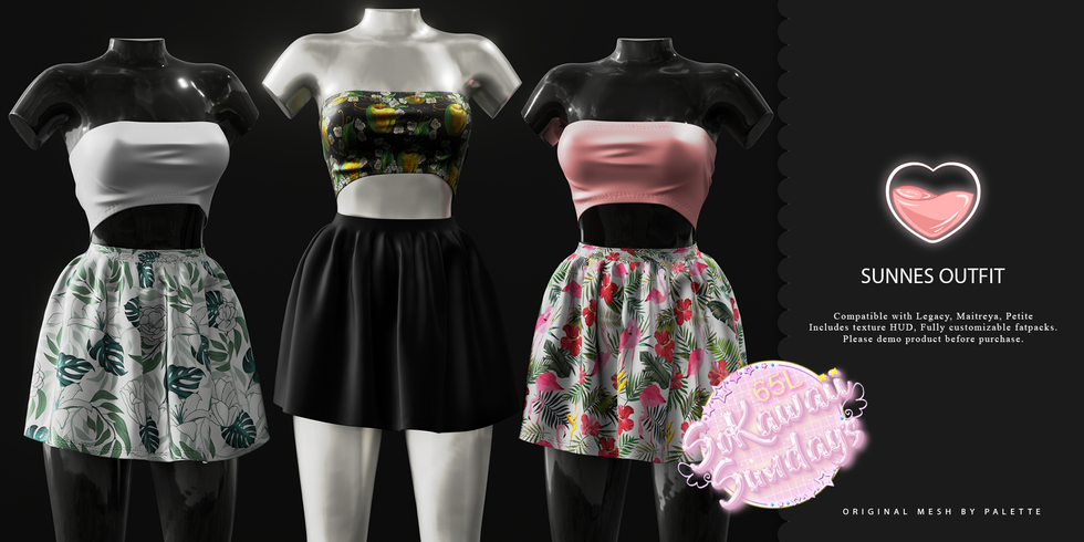 Palette - Sunnes Outfit