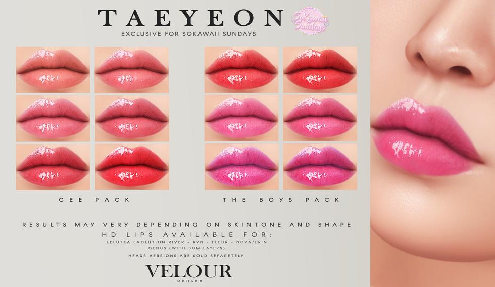 Velour - Taeyeon HD Lips