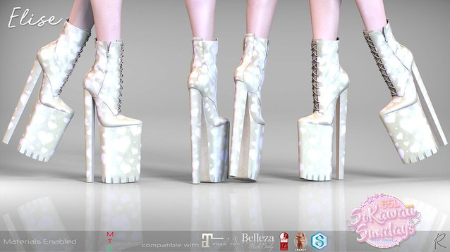 Remezzo - Elise Boots Yellow