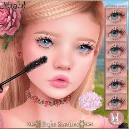Enfer Sombre Magical Eyelashes