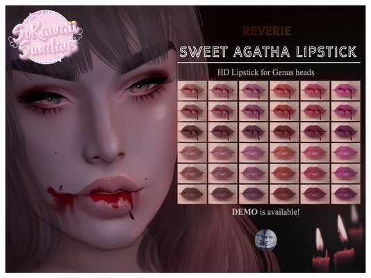 REVERIE - Sweet Agatha Lipstick