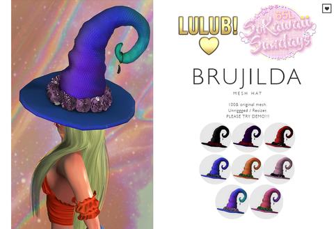 LuluB! - Brujilda Hat