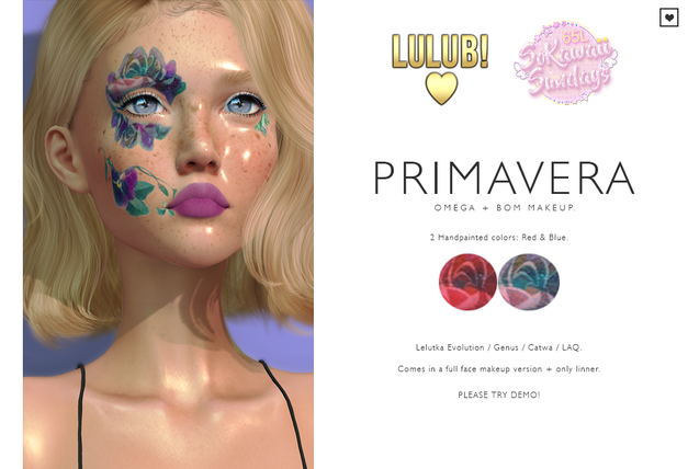 LuluB! - Primavera Makeup