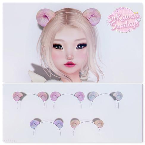 pr!tty - Muffin Teddy Ears Pastel