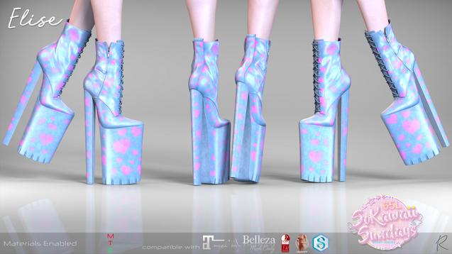 Remezzo - Elise Boots Blue
