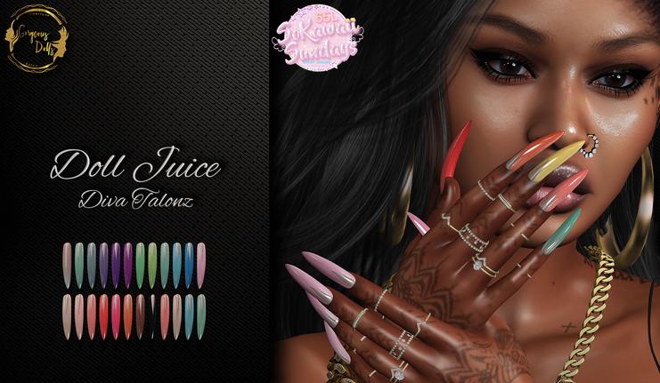 Gorgeous Dolls - Doll Juice Diva Talonz
