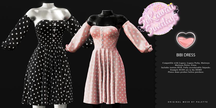 Palette - Bibi Dress