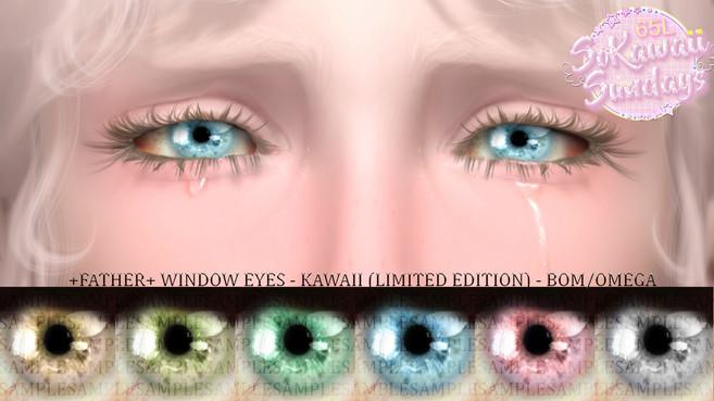 +FATHER+ - Window Eyes Kawaii Limited Edition