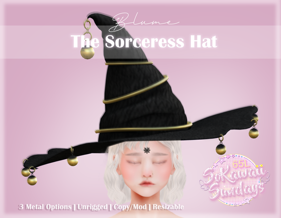Blume - The Sorceress Hat