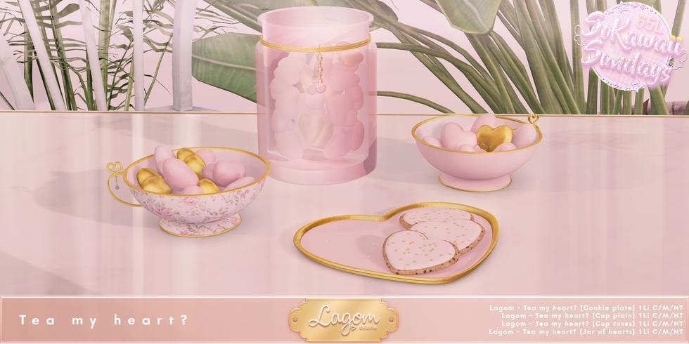 Lagom - Tea My Heart Set