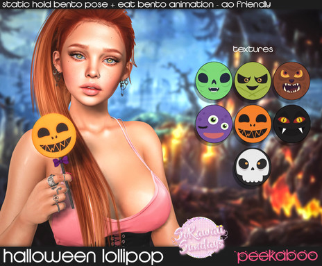 Peekaboo - Halloween Lollipop
