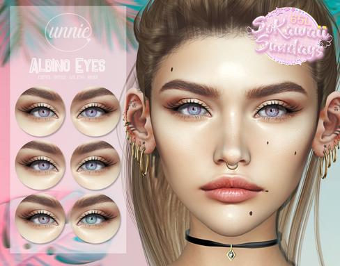 Unnie - Albino Eyes