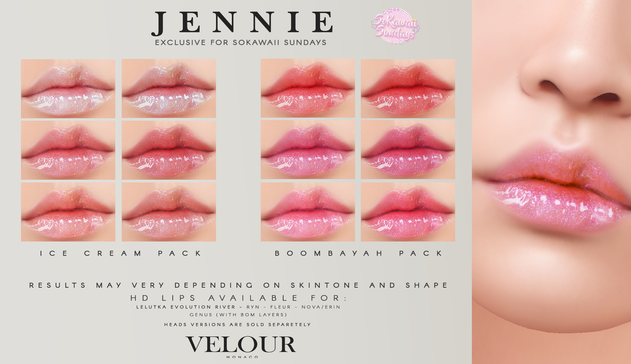 Velour - Jennie HD Lips