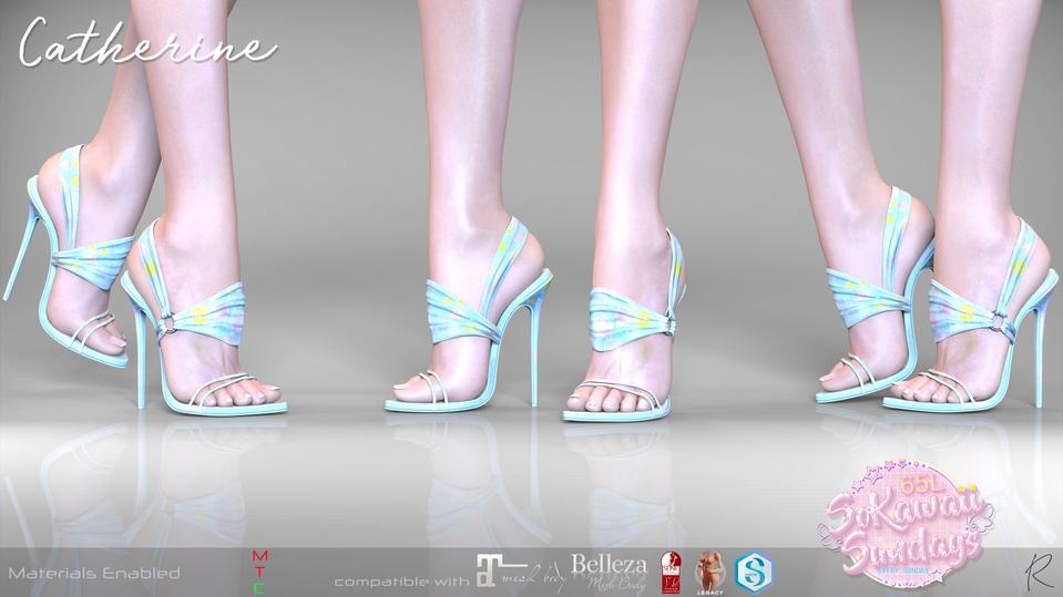 Remezzo - Catherine Heels Blue