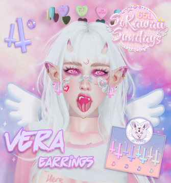 [Nya.Gore] - Vera Earrings