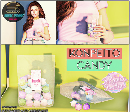 Junk Food - Konpeitou Candy