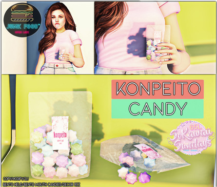 Junk Food - Konpeitou Candy