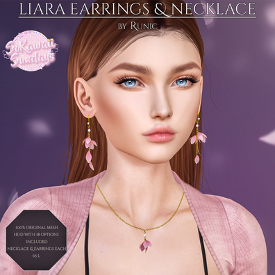 Runic - Liara Necklace & Earrings