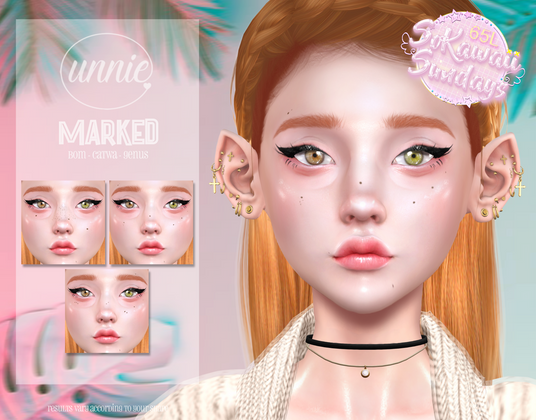 Unnie - Marked Moles & Freckles
