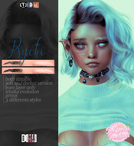 Minuit- Pyscho Eyebrows