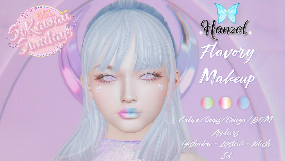 Hanzel - Flavory Makeup Set