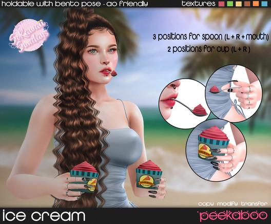 Peekaboo - Ice Cream